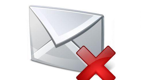 Mailfout