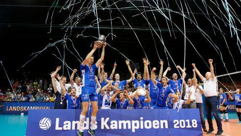 20180506 NED: Eredivisie Abiant Lycurgus - Seesing Personeel Orion, Groningen Abiant Lycurgus is Nederlands Kampioen Eredivisie Seizoen 2017 - 2018  ©2018-FotoHoogendoorn.nl